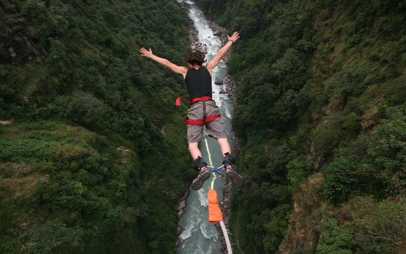 Bungee Jump Adventure Nepal