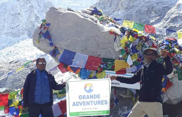 Everest base camp senior citizens trek