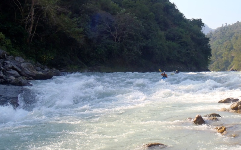 Lower Seti River White Water Rafting