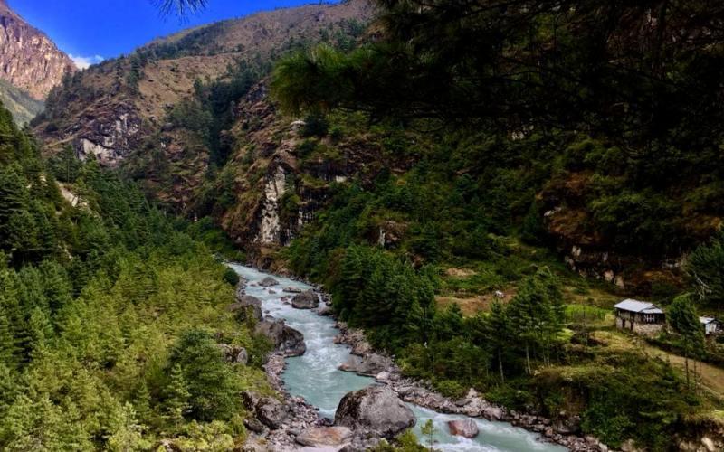 Dudhkoshi river