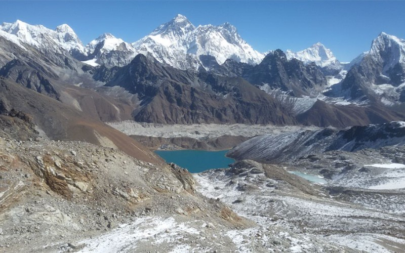 Everest Base Camp With 3 Pass Trek