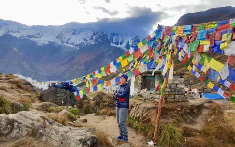 Annapurna base camp trek for seniors & with children